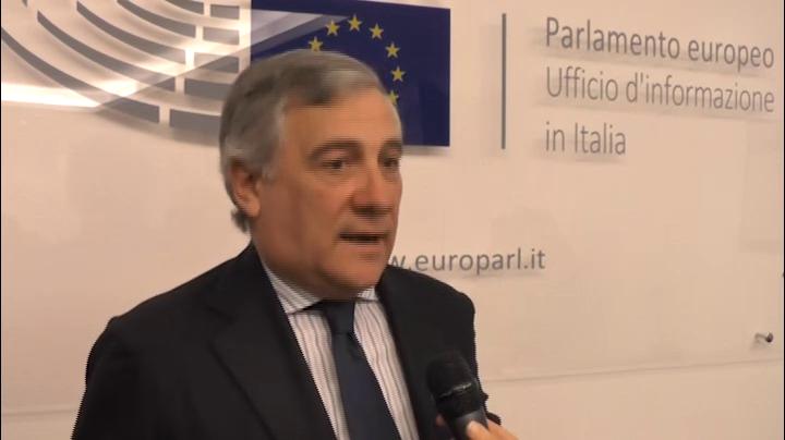Intervista ad Antonio Tajani - Vice Presidente Parlamento Europeo - 20.11.2015