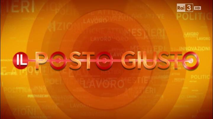 RaiTre Il Posto Giusto - 06.12.2015 - Francesco Duraccio