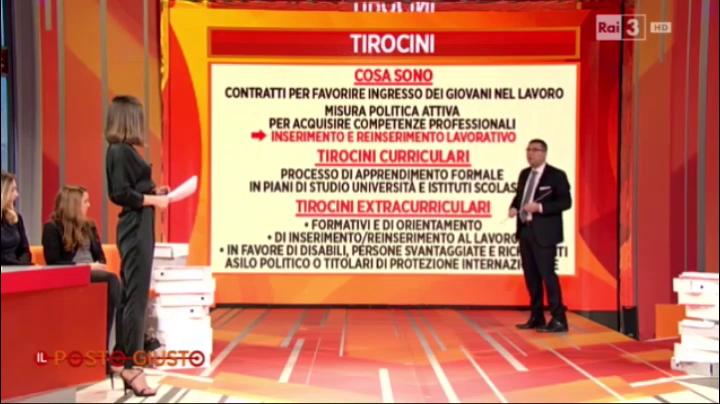 RaiTre Il Posto Giusto - 14.02.2016 - Marcantonio