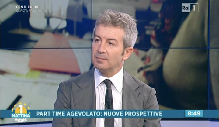 Rai1 Unomattina - 03.06.2016 - De Fusco - Part-time agevolato