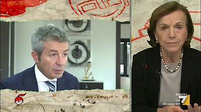 La7 - DiMartedì - Enzo De Fusco del 13.12.2016