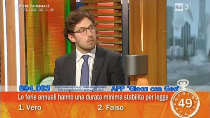 Geo - 02.05.2016 - Intervista a Dario Fiori