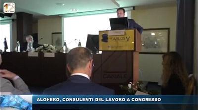 Canale12 - Alghero. Congresso CDL Sardegna