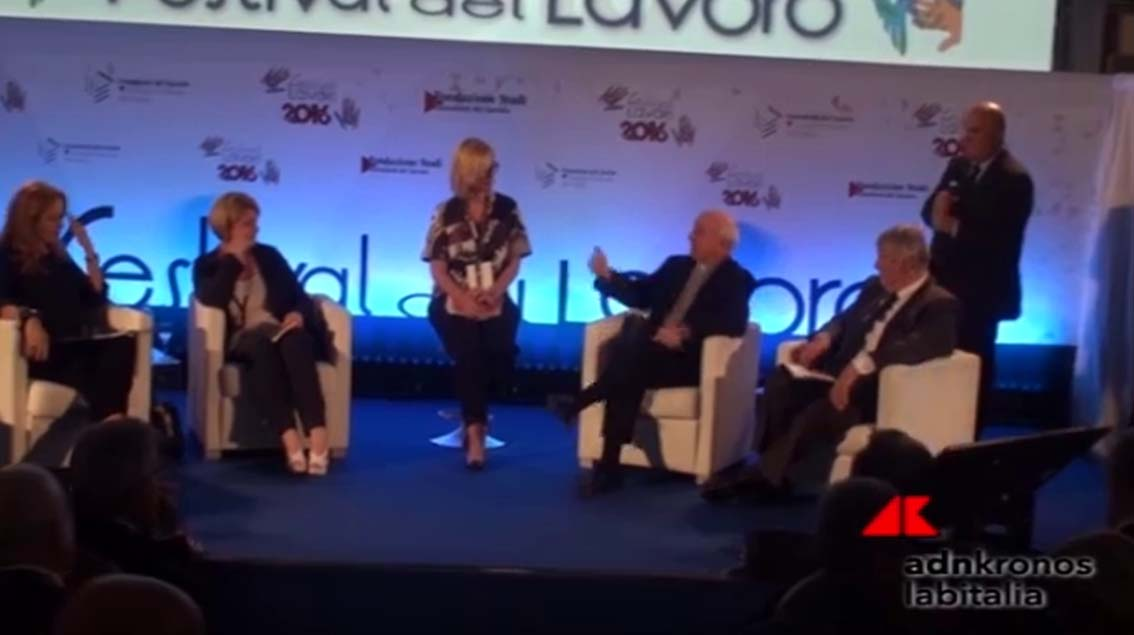 Adnkronos - 30-06-2016 - Politiche attive protagoniste al Festival del Lavoro