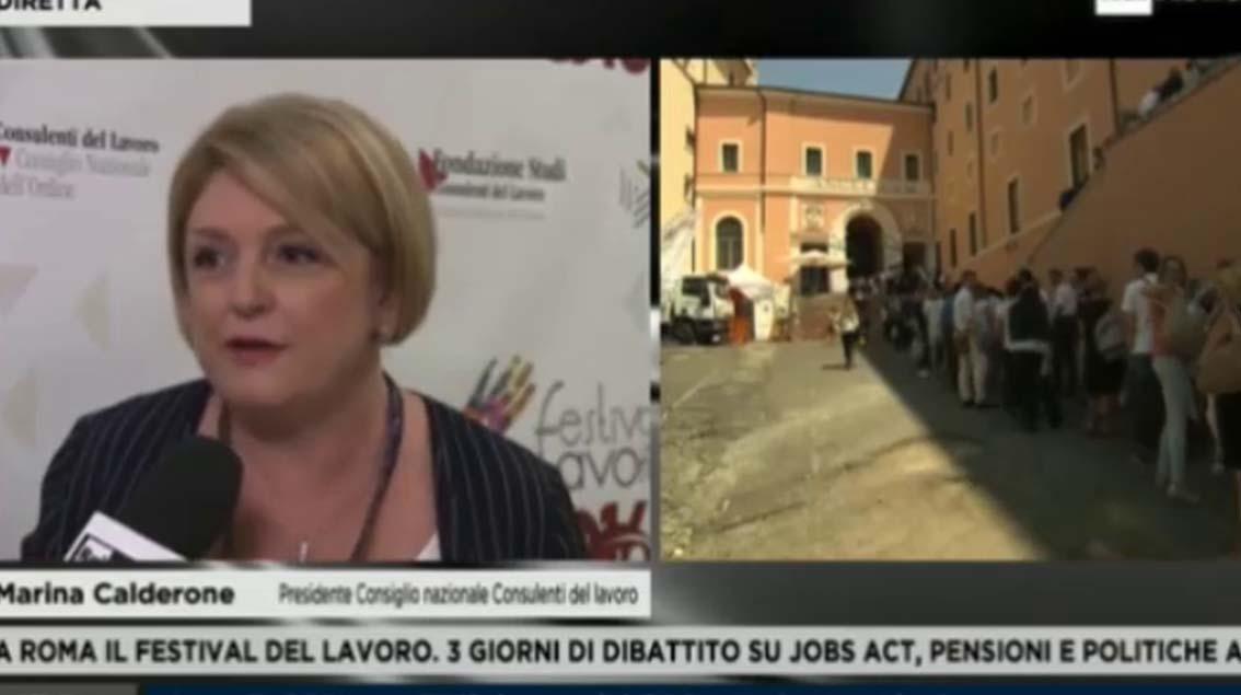 Rai news24 - 30-06-2016- Marina Calderone