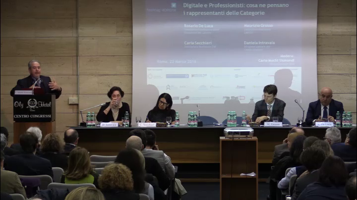 Digitale e professioni - Roma - De Luca Parte2