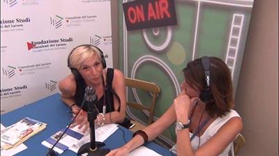 Antonella Ricci al Festival delLavoro 2016