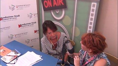 Federica Sorge al Festival del Lavoro 2016