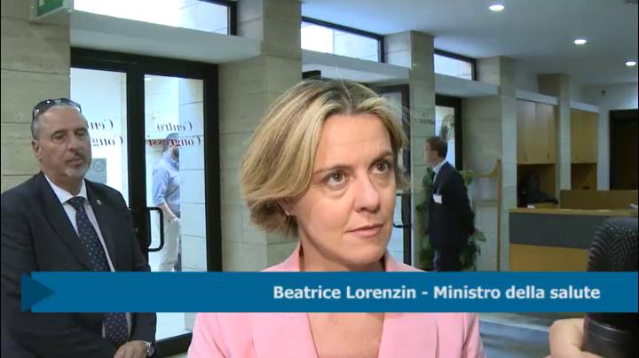 intervista al Ministro Lorenzin - 06-06-2016