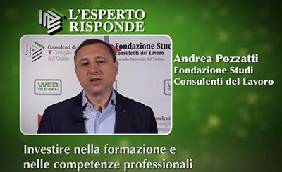 Andrea Pozzatti - Investire in formazione.