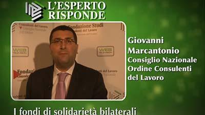 Giovanni Marcantonio - I fondi di solidarietà bilaterali