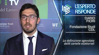 Dario Fiori - Definizione delle cartelle esattoriali