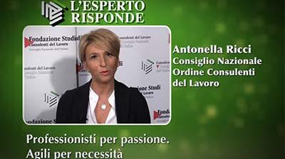 Antonella Ricci - Professionisti per passione. Agili per necessità