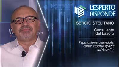 Sergio Stelitano - Come gestire la reputazione aziendale