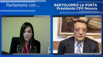 Intervista al Presidente di Novara, Bartolomeo La Porta - 08.03.2016