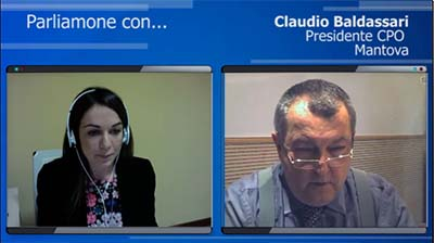Intervista al Presidente di Mantova, Claudio Baldassari - 29.03.2016