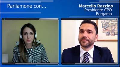 Intervista al Presidente di Bergamo, Marcello Razzino- 05.04.2016