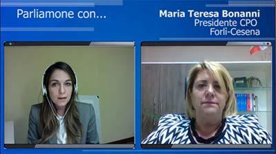 Intervista al presidente di Forlì-Cesena - Maria Teresa Bonanni - 26-04-2016