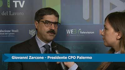 Intervista a Giovanni Zarcone, Presidente CPO Palermo