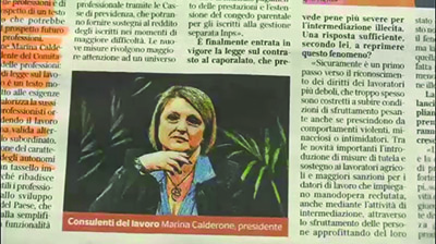 Rassegna Stampa - 21.11.2016