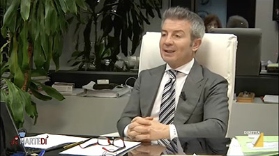 La7, DiMartedì. Enzo De Fusco