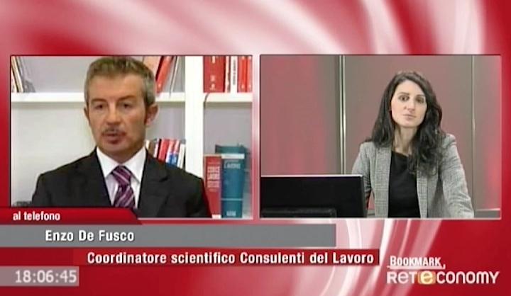 Dicono di noi - Reteconomy - BookMark -  Enzo De Fusco