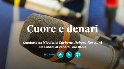 Radio24. Cuore e denari. Fondazione Studi su voucher