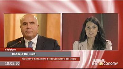Reteconomy - BookMark -  Rosario De Luca