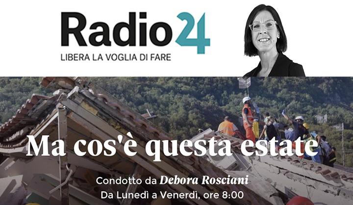 Radio24 del 23.08.2017, Benini su REI e incentivi al lavoro
