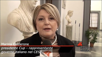 adnKronos - Le libere professioni 01.12.2017. Calderone