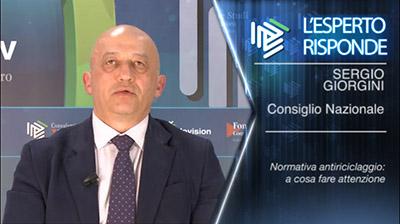 Sergio Giorgini - Normativa antiriciclaggio: a cosa fare attenzione