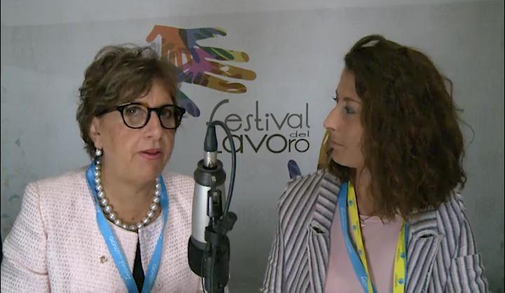 Luisella Fassino al Festival del Lavoro 2017