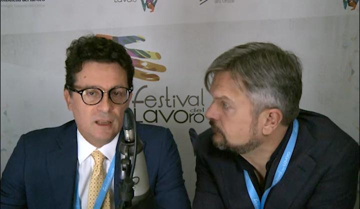 Mario Mantovani al Festival del Lavoro 2017