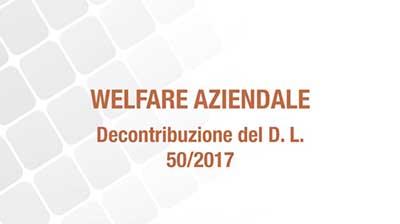 Welfare aziendale e decontribuzione