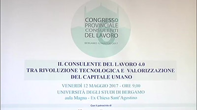 A Bergamo i Consulenti del Lavoro 4.0