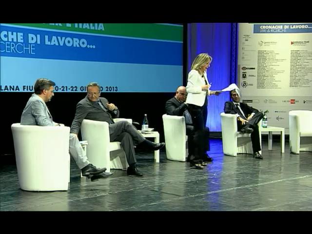 Il dibattito con l'On.le Alfredo Pallone