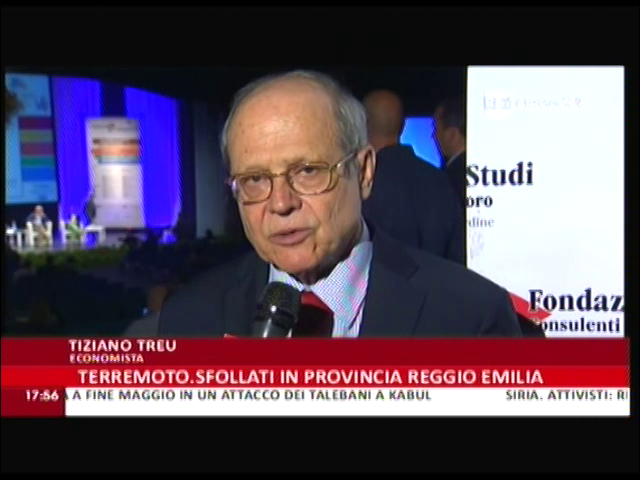 RaiNews24: intervista a Tiziano Treu