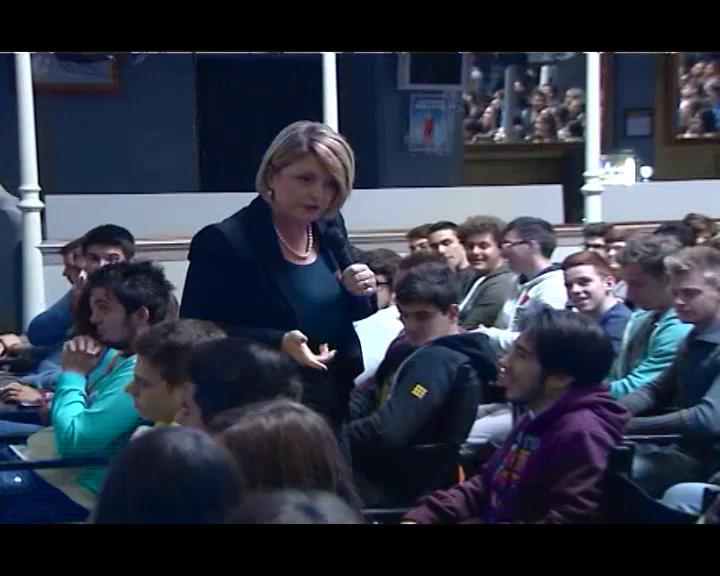 La Presidente Calderone incontra gli studenti di Cesena