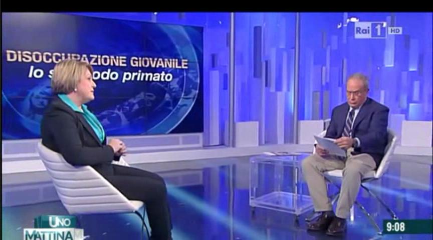 Unomattina - Intervista alla Presidente Calderone