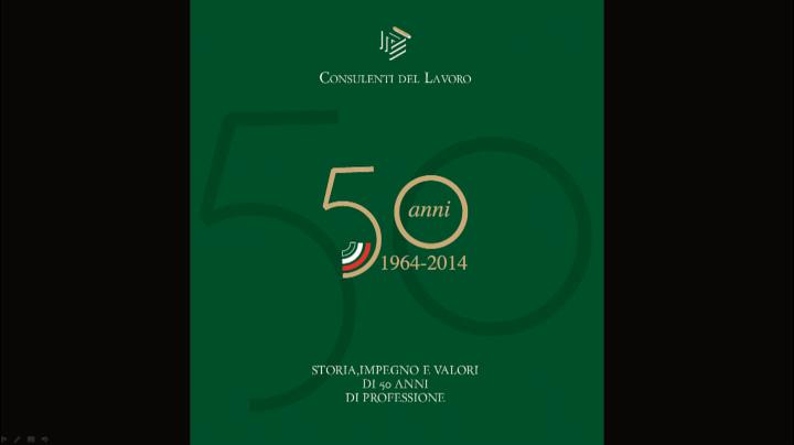 Celebrazione cinquantenario Legge 12/64 n.1081