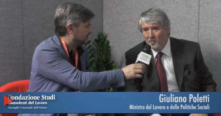 8° Congresso - Giuliano Poletti - Ministro del Lavoro e delle Politiche Sociali