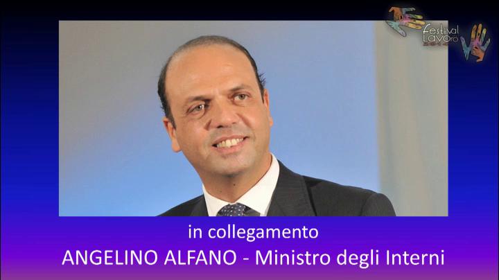 L'intervento del Ministro Angelino Alfano