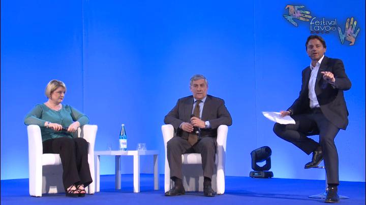 L'intervento di Antonio Tajani