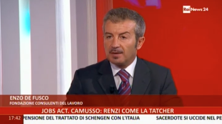 Enzo De Fusco - RaiNews 24