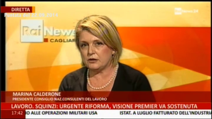 RaiNews24: E. De Fusco - M. Calderone