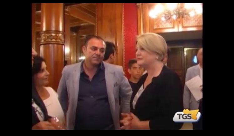 TG Sicilia del 23.06.2015 su Festival del Lavoro