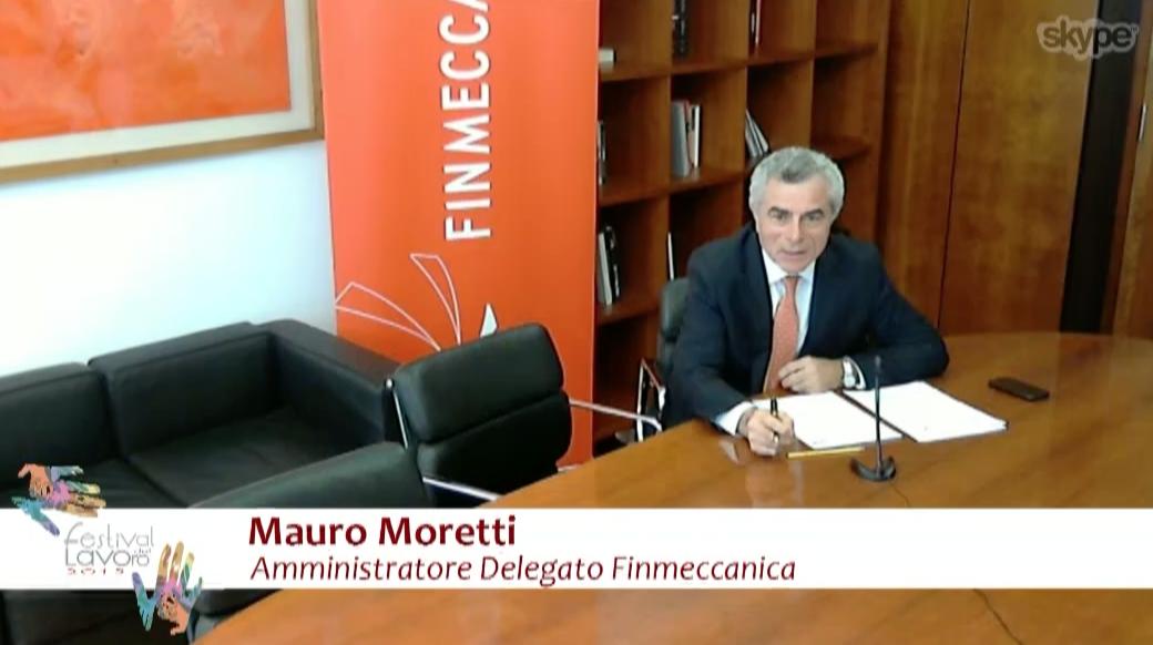 Festival del Lavoro 2015 - 26.06.2015 - Mauro Moretti AD Finmeccanica