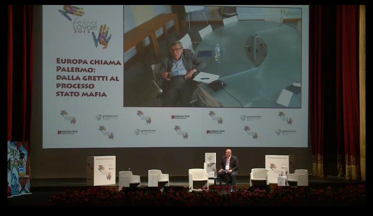 Festival del Lavoro 2015 - 26.06.2015 - Europa chiama Palermo: dalla Grexit alla trattativa Stato-Ma