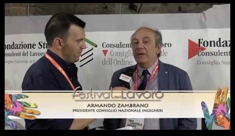 Festival del Lavoro 2015 - Armando Zambrano