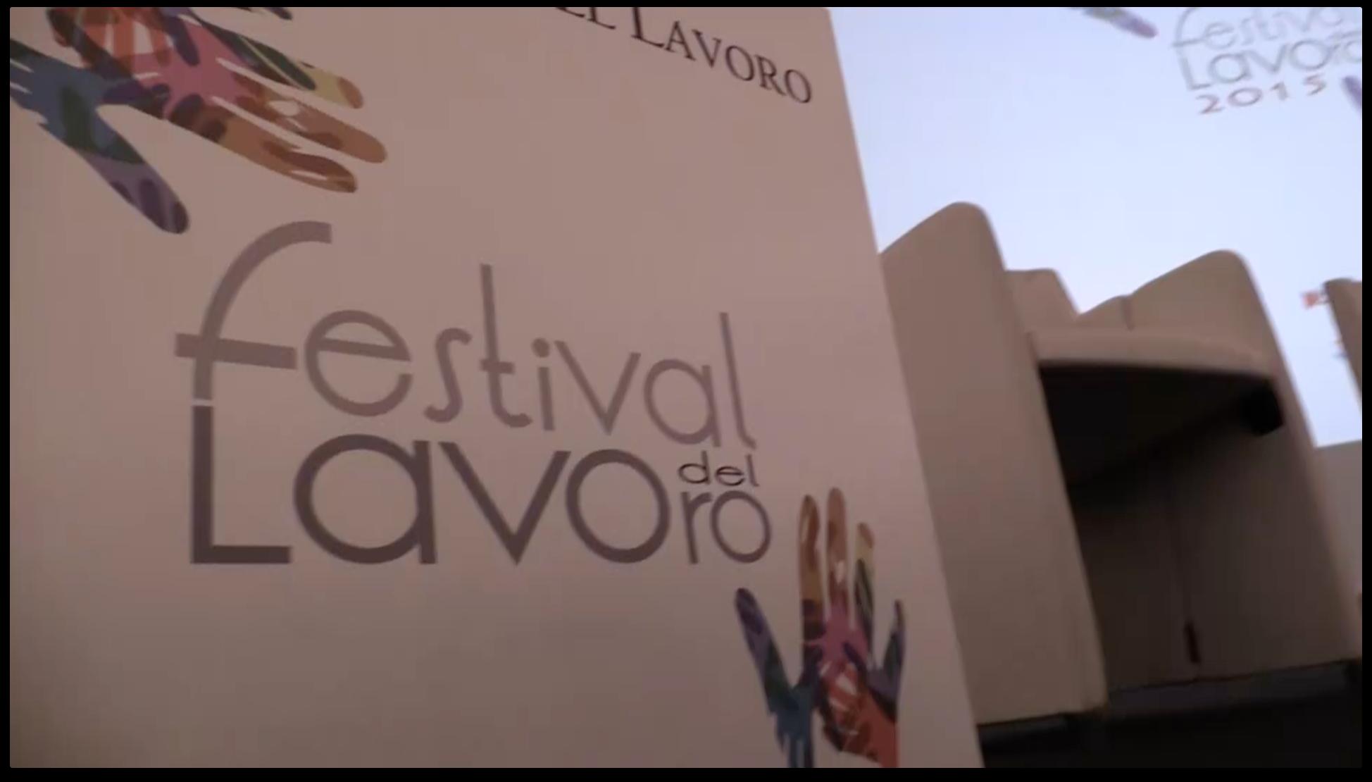 Festival del Lavoro 2015: Il Backstage
